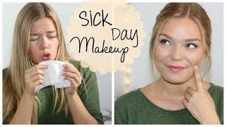 Sick Day Makeup ♥ Get Ready With Me