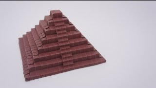 Preview - Origami Ancient Pyramid (timelapse)