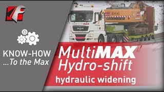 FAYMONVILLE MultiMAX - Hydro-Shift : hydraulic widening