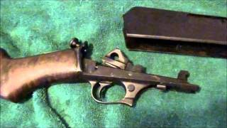 How To Takedown a Winchester Model 1907 Rifle .351 Caliber