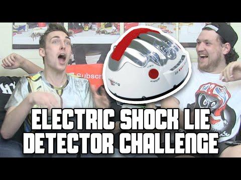ELECTRIC SHOCK LIE DETECTOR CHALLENGE *Screaming Like Little Girls Alert*   WheresMyChallenge