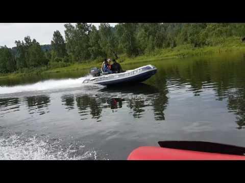тест лодок солар