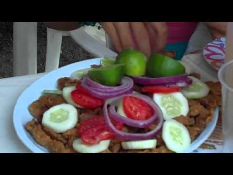 FISH RINDS - CHICHARRON De PESCADO, en Santa Maria del Oro, Nayarit, Mexico; HD