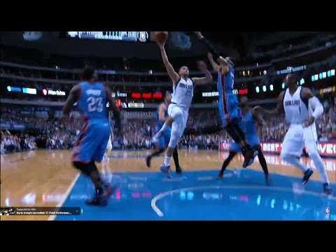 Chandler Parsons Drops the Hammer on OKC!!