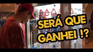 GASTEI R$170,00 REAIS NA MÁQUINA DE PEGAR CELULAR! (CHAVE DO TESOURO) | VLOG