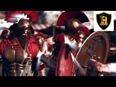 Царские Спартанцы VS Фракийская знать Total War: Rome 2