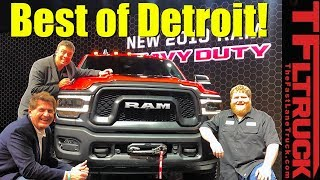 2019 Detroit Auto Show: These Are the Best Cars and Trucks!