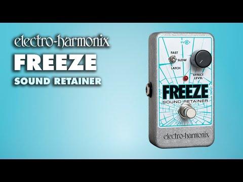 Electro-Harmonix Freeze Sound Retainer Demo