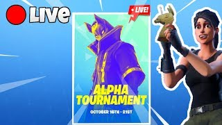 ALPHA TOURNAMENT PRO PLAYER 1900 Wins | Fortnite Battle Royale