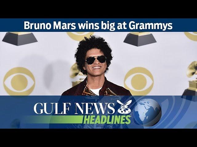 Bruno Mars wins big at Grammys - GN Headlines