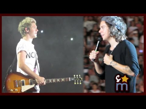 Harry Styles' Story About Niall Horan & Singing Happy Birthday - Where We Are Tour 9/13