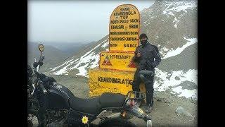 Royal Enfield Himalayan Odyssey | Day 8 | Leh to Khardungla