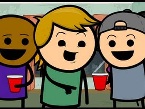 Party Trick - Cyanide & Happiness Shorts