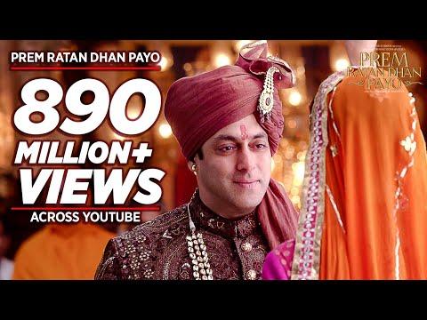 'PREM RATAN DHAN PAYO' Title Song (Full VIDEO) | Salman Khan, Sonam Kapoor | T-Series