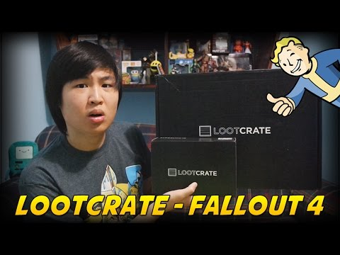 Loot Crate Unboxing: Fallout 4 Limited Edition Crate!