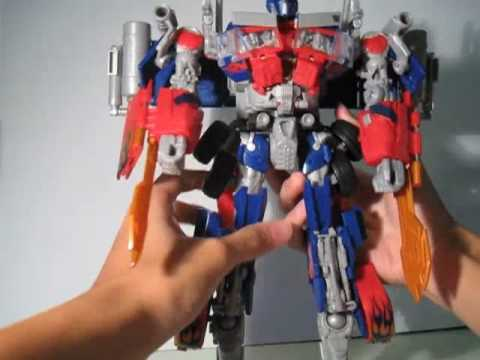 Transformers ROTF Revenge of The Fallen Power Up Optimus Prime-Jetfire Configuration