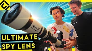 Testing $160 Mega Zoom Lens   2,600mm