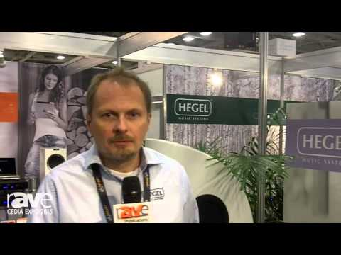 CEDIA 2015: HEGEL Shows Its HD30 DAC and Reference Streamer With AirPlay, DLNA and Low Noise Design