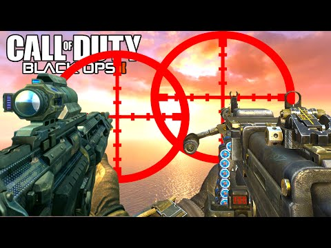 Black Ops 2 - OVERKILL CHALLENGE! (Funny Gameplay)