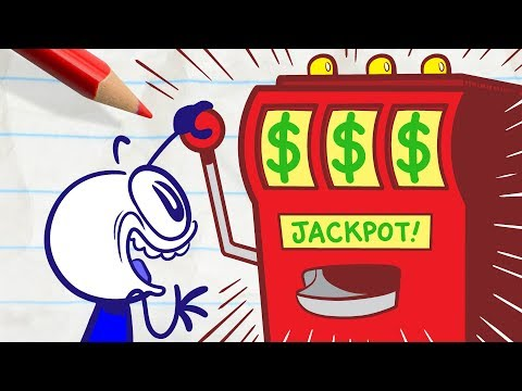 Download Will Pencilmate Get Lucky? -in- CLOVER THE TOP - Pencimation Cartoons Mp4 baru