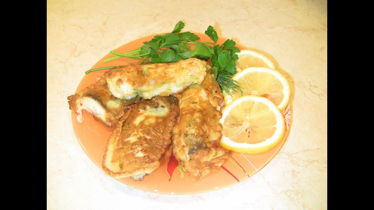 рыба в кляре пошаговый рецепт с фото в духовке