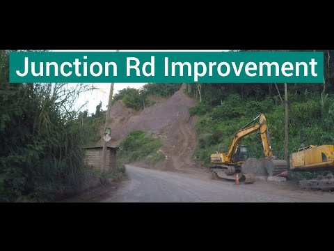 Junction Road Improvement Project, St Mary, Jamaica 2020