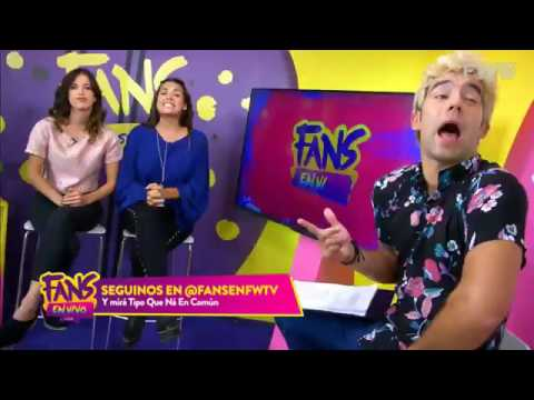 Julian Serrano en Fans en Vivo 2017 - Programa #1