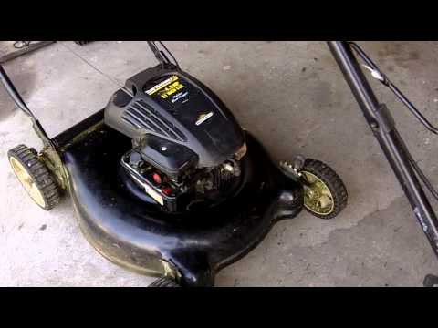 Fix your Briggs & Stratton Powered Lawn Mower for Un