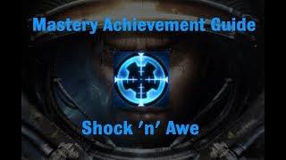 Shock 'n' Awe Mastery Achievement - Starcraft 2 Wings of Liberty