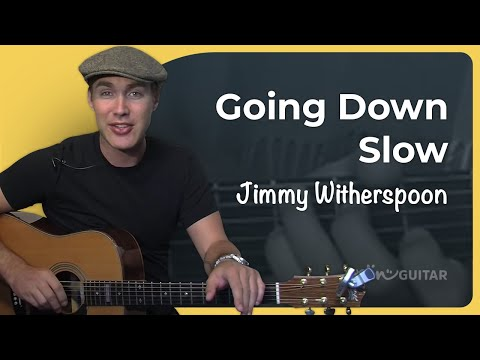 Going Down Slow - Blues Standard (Easy Songs Beginner Guitar Lesson BS-507) How To Play