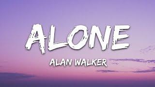 download lagu Alan Walker - Alone (Lyrics) gratis