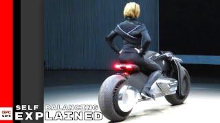 Self Balancing Autonomous BMW Motorrad Motorcycle Explained