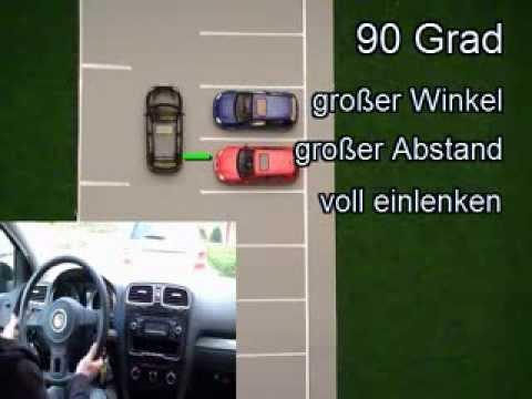 auto einparken lernen