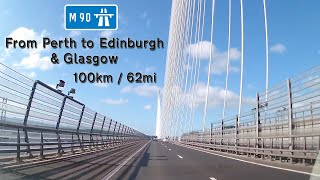SCO - M90/M9/M8 - Perth to Edinburgh & Glasgow - April 2019