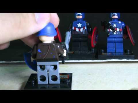 Lego Marvel SuperHeroes Captain America Sheng Yuan Bootleg Review