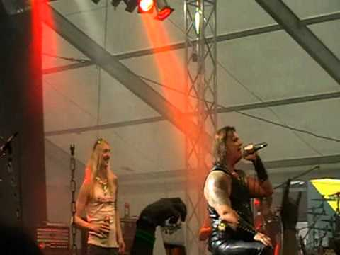 Pokolgép + Hammerfall(Joacim Cans/Oscar Dronjak) - Mindhalálig Rock 'n Roll (Metalfest 2011)