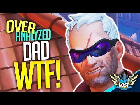 Overwatch Coaching - DAD WTF! Soldier 76 Coaching [OverAnalyzed]
