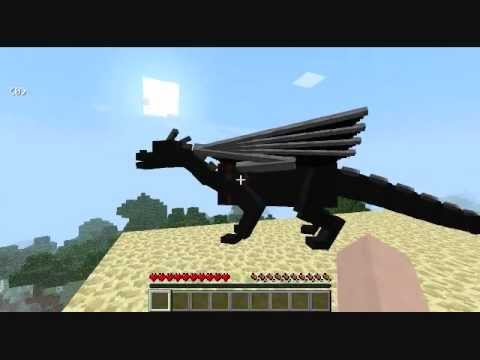 Minecraft: Ender Dragon Riding Mod