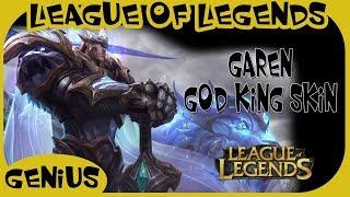 League of Legends - Garen    God-King - Login Screen