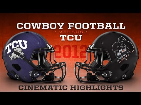 2012 TCU at Oklahoma State Cinematic Highlights