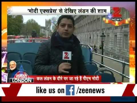 Watch: Zee Media exclusive report from 'Modi Express' bus in London