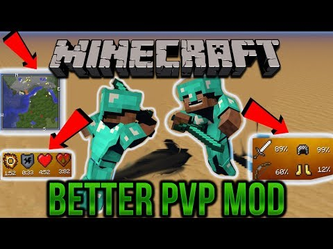 How To Download And Install BETTER PVP Mod For Minecraft (1.8.9 + 1.7.10)
