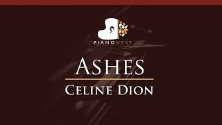 Download Lagu Celine Dion - Ashes - HIGHER Key (Piano Karaoke / Sing Along) Gratis STAFABAND