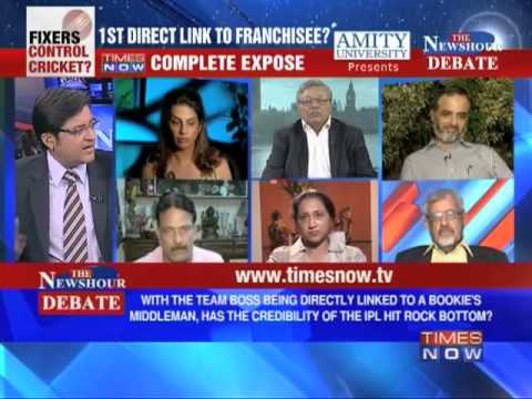 The Newshour Debate: Spot Fixing - First direct link to a franchisee (Full Debate)