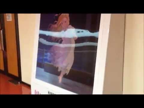 when marnie was there - poster (постер в кинотеатре)