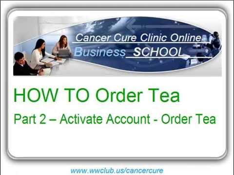 HOW TO Order Tea? Part 2 - Order Tea = Activate Account After Join The Club EN