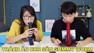 Thách Ăn Con Sâu Gummy Worm Khổng Lồ Với Anh TBB Thúi