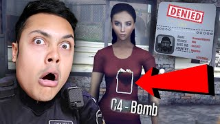 SHE WAS HIDING SOMETHING AT THE BORDER (Border Officer)