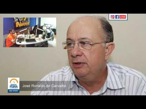 José Ronaldo fala pela primeira vez sobre apoio à candidatura de Colbert