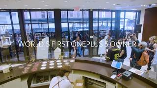 OnePlus 5 - A Glimpse of New York Pop-up Event